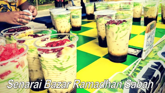 Senarai bazaar Ramadan tumpuan dan menarik Sabah 2021